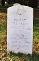 Profile photo:  Harry Franklin Snoots, Jr