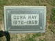 Cora <I>Bywater</I> Hay