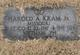 Harold A Kram, Jr