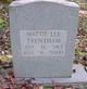 Mattie Lee Trentham