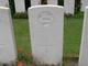 Profile photo: Private Albert Edward Grinstead