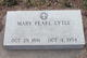 Profile photo:  Mary Pearl <I>Allen</I> Lytle