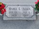 Mabel E. <I>Waller</I> Allen