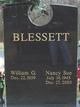 Nancy Sue <I>Redden</I> Blessett
