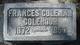 Francis Regina <I>Coleman</I> Colehour