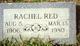 Rachel <I>Scott-Teer</I> Red