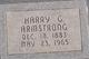 Harry G Armstrong