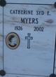 Catherine Sydney E <I>Wall</I> Myers