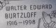 Walter Edward Burtzloff