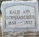 Katie Ann <I>Oster</I> Schwamberger