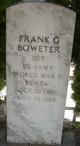 Profile photo:  Frank G. Boweter