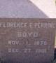 Florence E <I>(Perrine)</I> Boyd