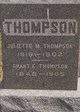 Grant E Thompson