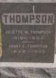 Juliette M Thompson