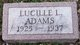 Lucille Libby Adams