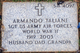 Sgt Armando A Taliani