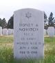 """Profile photo:   Sidney A """" """" <I> </I> Novitch,"""