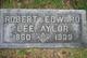 Profile photo:  Robert Edward Lee Aylor