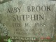 Profile photo:  Abby Brook Sutphin