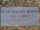 "Bessie Alice ""Bess Alice"" <I>Myers</I> Mastin"
