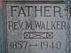 Rev Marcus Walker