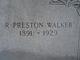 """Royal Preston """"Press"""" Walker"""