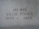 Lillie Jane <I>Pinnix</I> Walker