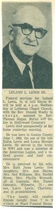 Leland Lawrence Lewis, Sr