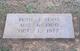 Ruth <I>Jones</I> Lewis
