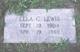 Lela <I>Crook</I> Lewis