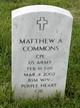 CPL Matthew Allen Commons