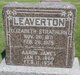 Elizabeth <I>Strathern</I> Leaverton