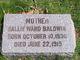 Sallie Ward <I>Barns</I> Baldwin