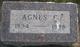 Agnes C. Anderson