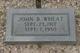 Profile photo:  John B Wheat
