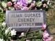 Profile photo:  Alma Guckes Cheney