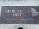 Marilyn J <I>Black</I> Heit