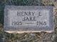 Henry Edwin Brobst