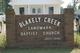 Blakely Creek Baptist Church Cemetery