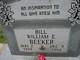 "Profile photo:  William Erastus ""Bill"" Beeker"