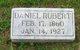 Profile photo:  Daniel Rubert