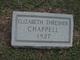 Profile photo:  Elizabeth <I>Thresher</I> Chappell