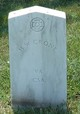 Profile photo: Pvt Henry W. Crone
