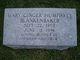 Mary Ginger <I>Humphrey</I> Blankenbaker