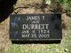 "James Thomas ""Jack"" Durrett"