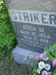 "Profile photo:  Adele M ""Adda"" <I>Schefter</I> Striker"
