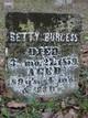 Betty <I>Hendricks</I> Burgess