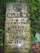 Mary Maria Westaby