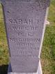 Sarah Frances <I>Cook</I> McCubbin