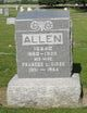 Frances Letitia <I>Gibbs</I> Allen